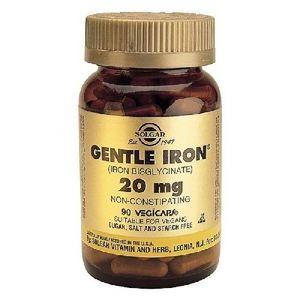 Gentile Iron 20mg 90cps Solgar imagine