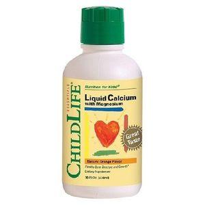 Calcium With Magnesium 474ml Childlife Secom imagine
