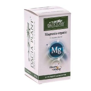 Magneziu Organic 60Cpr imagine