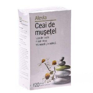 Ceai de Musetel 20dz Alevia imagine