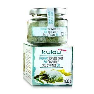 Condiment Sare de Mare cu Alge Marine Bio 100gr Kulau imagine