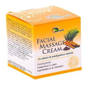 Crema pentru Masaj Facial 50ml Ayurmed imagine