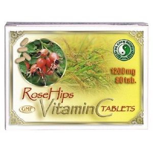 Vitamina C + Macese 80tab Dr.Chen imagine