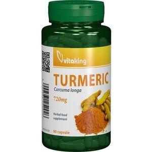 Curcuma (turmeric) 720mg 60cps Vitaking imagine