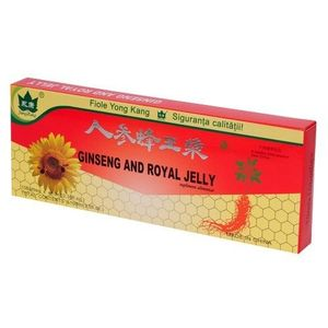 Fiole Ginseng And Royal Jelly 10 Fiole Yong Kang imagine