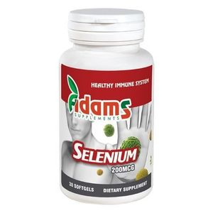 SELENIU ORGANIC 200MCG 30CPS imagine