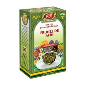 Ceai Frunze de Afin 50g Fares imagine