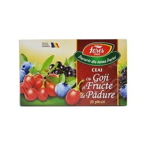 Ceai cu Goji si Fructe de Padure 20dz Fares imagine