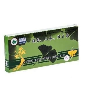 Fiole Ginkgo+Ginseng+Royal Jelly 100ml imagine