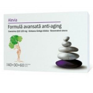 Formula Avansata Anti-aging 40+30+60 cpr Alevia imagine