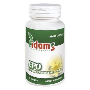 EPO (Evening primrose) 1000mg 30 cps. Adams Supplements imagine