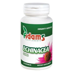 Echinacea 400mg 30cps. Adams Supplements imagine
