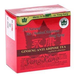 Ceai Antiadipos Rosu cu Ginseng 30dz Yong Kang imagine