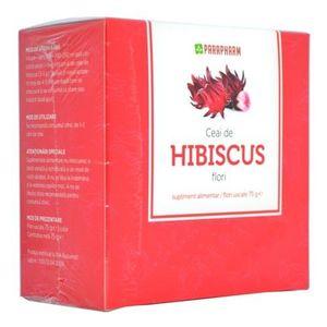 Ceai De Hibiscus Flori Vrac Parapharm imagine