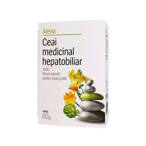 Ceai Hepatobiliar 50gr Alevia imagine