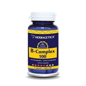 B Complex 60cps Herbagetica imagine