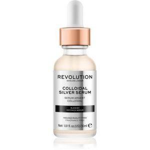 Revolution Skincare Colloidal Silver Serum Ser activ pentru a netezi conturul feței antibacterial imagine