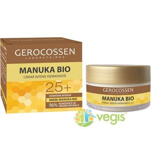 Crema Intens Hidratanta 25+ Manuka Bio 50ml imagine