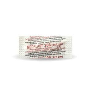 Medplast 206 (2 x 6cm) Mebra, 200 buc/cutie imagine