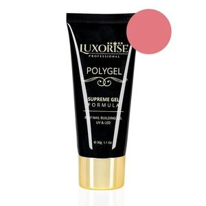 Polygel Supreme Gel LUXORISE, Silky Pink LX011 imagine