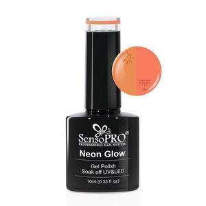 Oja Semipermanenta Neon Glow SensoPRO 10ml #03 Delicious Peach imagine