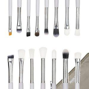 Set 15 Pensule Machiaj Precise Makeup White + Borseta Cadou imagine