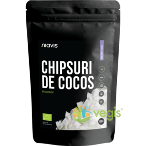 Chipsuri De Cocos Raw Ecologice/Bio 125g imagine