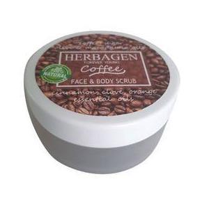 Scrub cu Cafea pentru Fata si Corp Herbagen, 100g imagine
