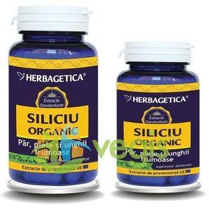 Siliciu Organic 60cps+10cps Pachet 1+1 Promo imagine
