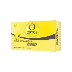 Sapun cu Sulf Ortos Prod, 100 g imagine