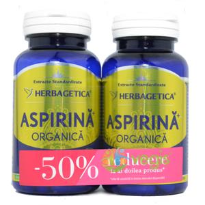 Aspirina Organica 60cps Pachet 1+1-50% imagine