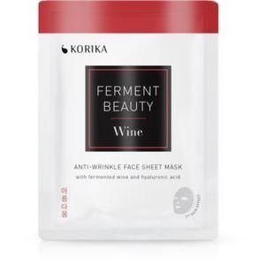 KORIKA FermentBeauty mască facială de pânză cu efect anti-rid, cu vin fermentat și acid hialuronic imagine