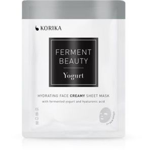 KORIKA FermentBeauty mască facială de pânză cu efect hidratant, cu iaurt fermentat și acid hialuronic imagine