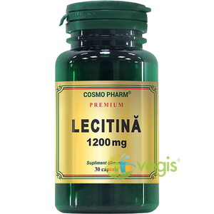 Lecitina Premium 1200mg 30cps imagine
