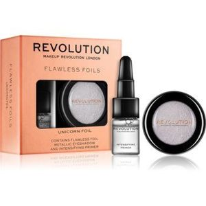 Makeup Revolution Flawless Foils farduri de ochi metalice, cu bază de machiaj imagine
