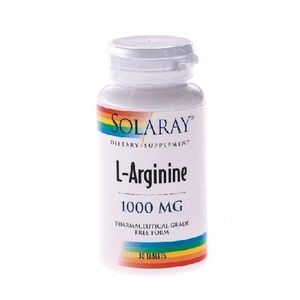 L-Arginine 30tab Solaray imagine