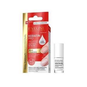 Tratament pentru unghii, Eveline Cosmetics, Nail Therapy Keratin Pro, 5 ml imagine