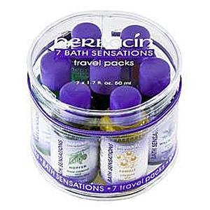 Set cadou uleiuri de baie (set 7 piese) 350ml Herbacin imagine