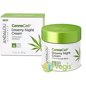 Crema Nutritiva de Noapte cu Celule Stem din Canepa 50g imagine