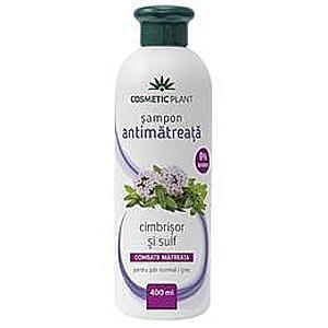 Sampon Antimatreata cu Cimbrisor si Sulf Cosmetic Plant, 400 ml imagine