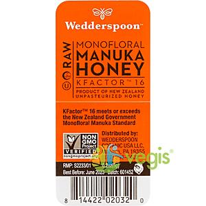 Miere De Manuka KFactor 16 RAW 100% Naturala Plic 5g imagine
