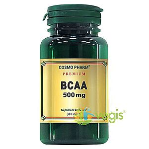 BCAA 500mg 30tb Premium imagine