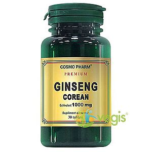 Ginseng Corean 1000mg 30tb Premium imagine