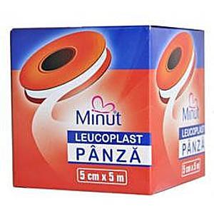 Leucoplast Panza Minut 5 cm x 5 m Minut Vision Trading imagine