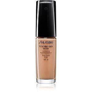 Shiseido Synchro Skin Glow Luminizing Fluid Foundation make-up pentru luminozitate SPF 20 imagine