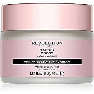 Revolution Skincare Niacinamide Mattify Boost crema de zi matifianta imagine