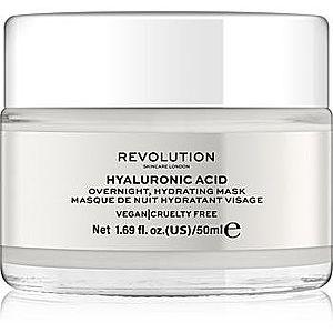 Revolution Skincare Hyaluronic Acid masca hidratanta de noapte facial imagine