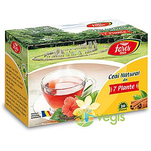 Ceai Natural Din 7 Plante 20dz imagine