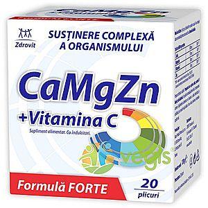 Ca+Mg+Zn+Vit C Forte 20dz imagine