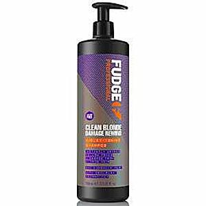 Sampon Reparator pentru Par Blond - Fudge Clean Blonde Damaged Rewind Shampoo, 1000 ml imagine
